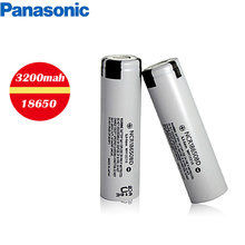 1 sztuk Panasonic 18650 akumulator litowo-jonowy akumulator 3.7V 3200mAh bateria NCR18650BD do latarki power bank notebook