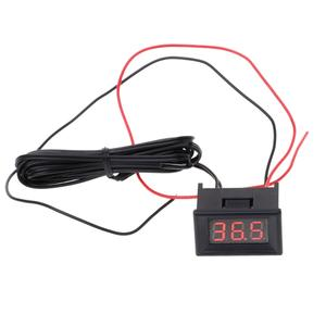 LED Digital Thermometer Car Probe Fridge Freezer Temperature -40~120C Degree DIY