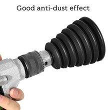 Электрический дрель пыль крышка с 4шт резина кольца электрический удар молоток силикон пыль коллектор пыленепроницаемый питание инструмент аксессуары