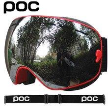Eyewear Sunglasses Goggles POC Skiing Snow UV400 Anti-Fog Sport Double-Layers Women Mtb