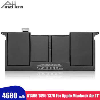 PINZHENG New Laptop Battery For Apple Macbook Air 11 inch A1370 A1465 A1495 2012 Years Battery With Screwdrivers Tools