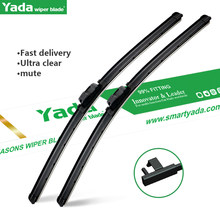Wiper Blades For 17-18 Benz i3 Natural Rubber Car Front Windscreen Wiper Length 30 Inches 22 Inches