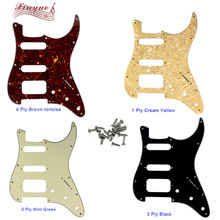Pleroo Guitar Parts - For US 72 11 mounting Screw Hole Standard St Hss strat pickguard