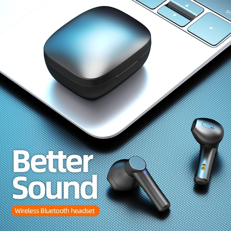LB-8 наушники-вкладыши TWS с Наушники Hi-Fi стерео Беспроводной 5,0 Bluetooth наушники HD микрофон наушники сенсорный Управление Водонепроницаемый Спо...