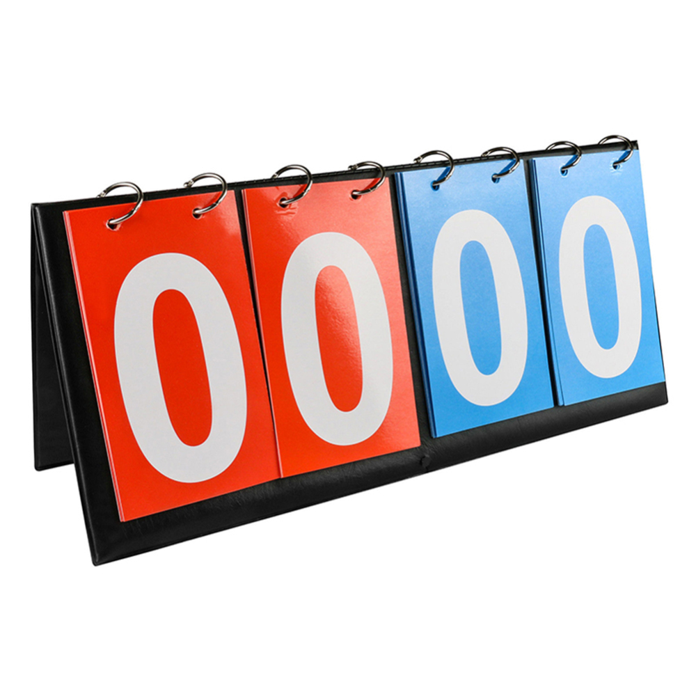 4 Digital Team Sports Scoreboard Tabletop For Football Volleyball Basketball Competition