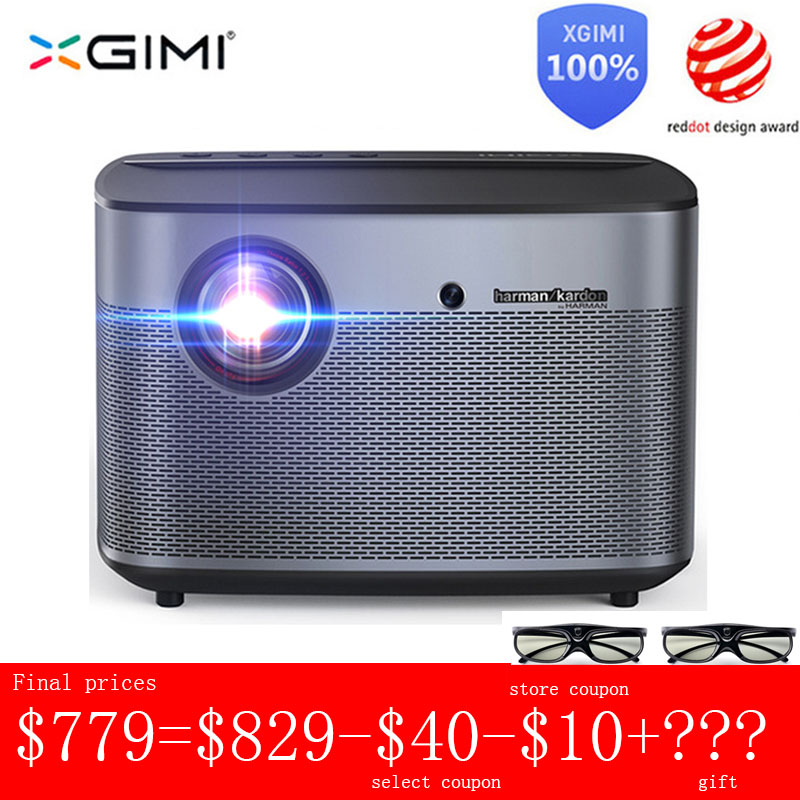 XGIMI DLP Projector Wifi Bluetooth Global-Version Android Home Theater Full-Hd 4K 1080p title=