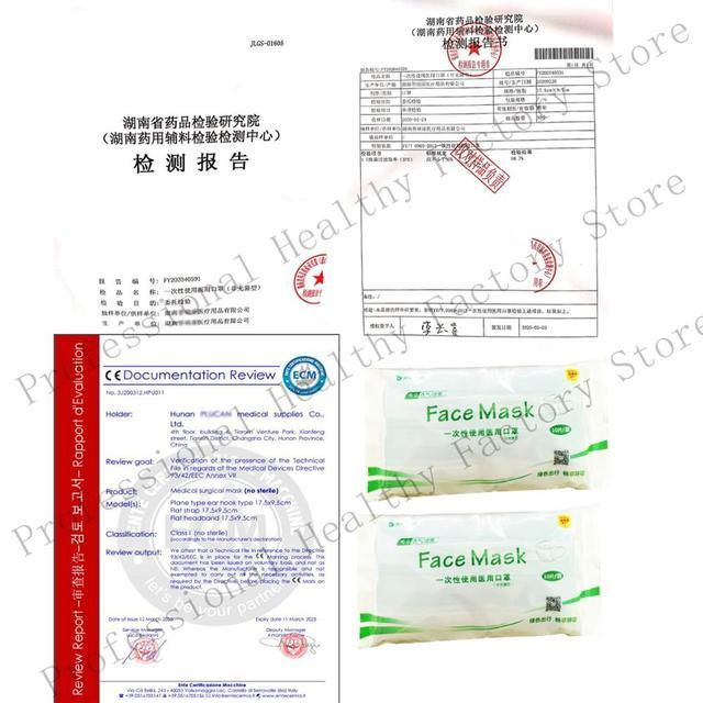 50PCS  3-Layer Medical Mask Non-woven Mouth Face Mask Anti-Dust bacteria Flu disposable Mask Filter mask wholesalemedical masks 5