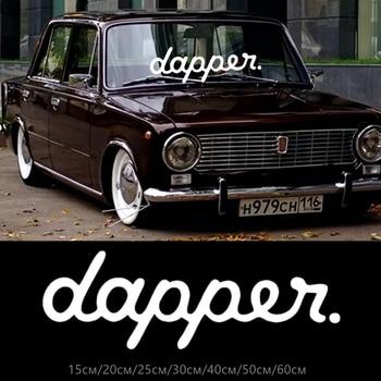 30219# JDM dapper. car sticker reflective vinyl car decal waterproof stickers on car truck bumper rear window no background salt rock surf funny car window jdm euro vinyl decal sticker
