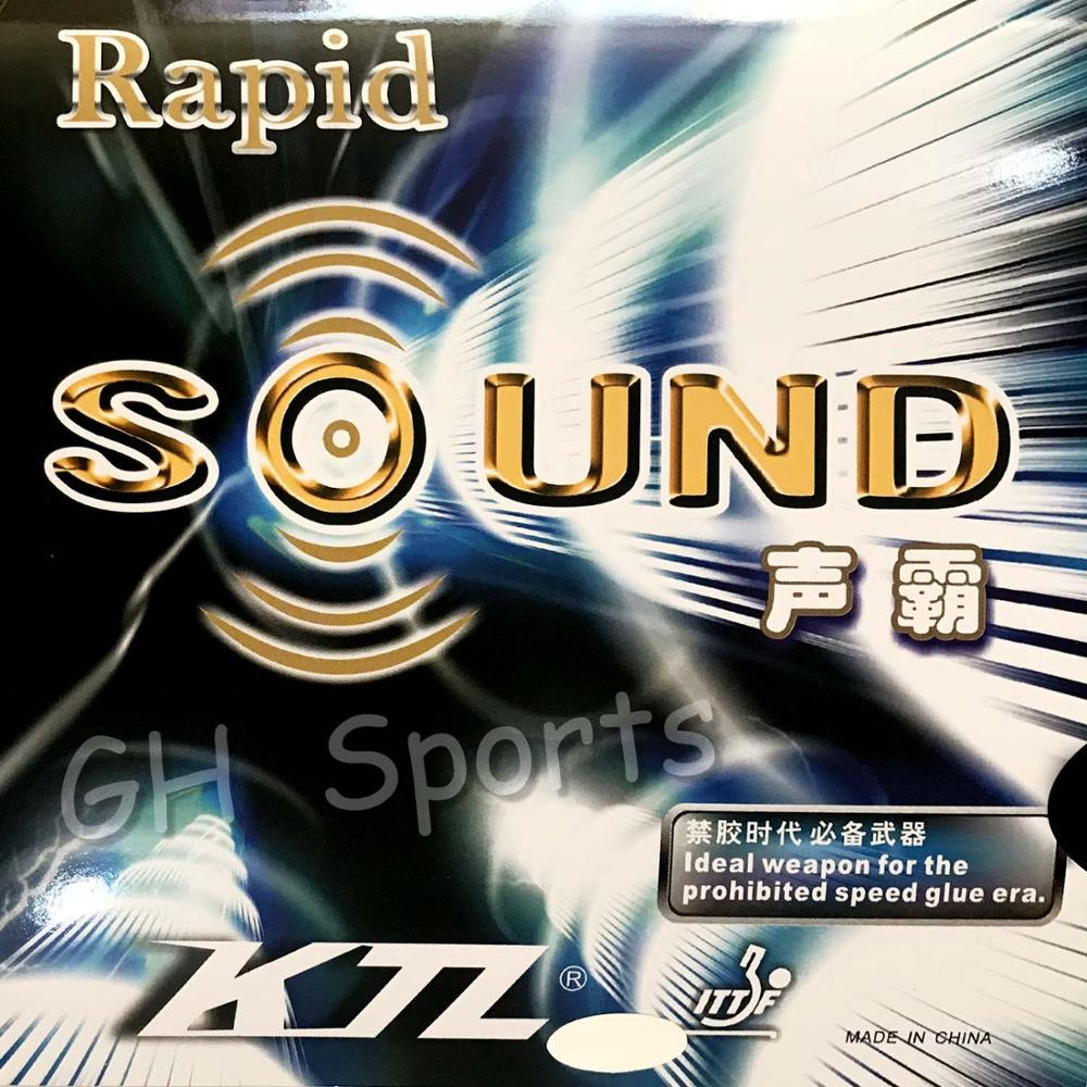 KTL Rapid SOUND (Rapid-SOUND) Pips-In Table Tennis (PingPong) Rubber With Sponge