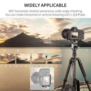 "Image 5 - E40/E34 Low Profileหัวขาตั้งกล้องพร้อม1/4 ""Arca Swiss LและQuick Release PlateสำหรับDSLR Monopodกล้อง"