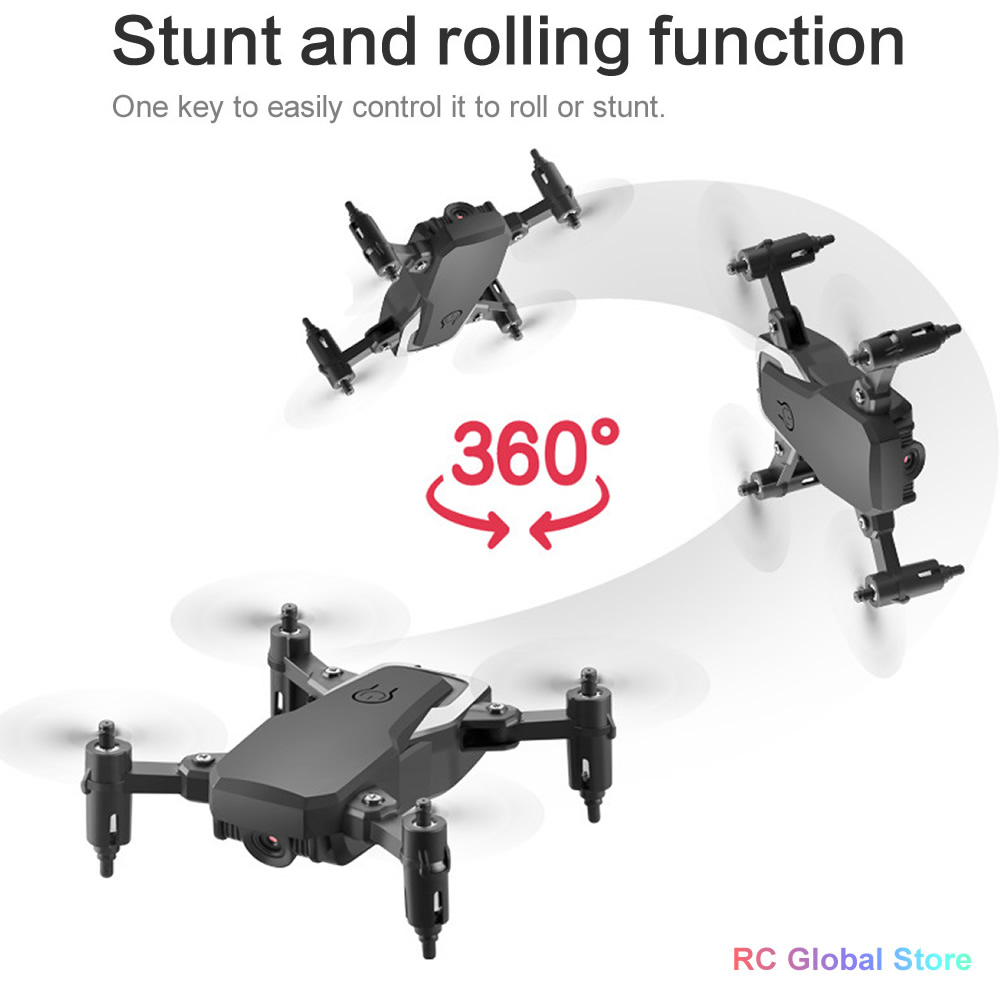 RC Drone UAV 4K HD with Camera Quadrocopter Mini 606 Remote Control Helicopter One-Key Return WIFI Foldable Quadcopter Toy ASSOT 1