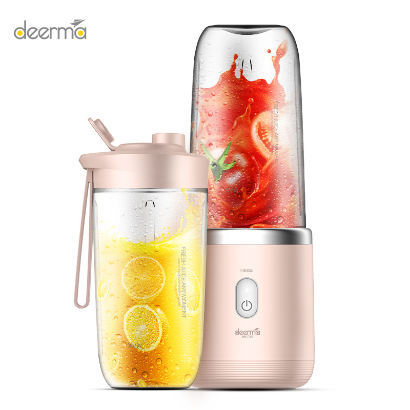 Deerma Juicer wireless home automatic fruit and vegetable multi-function mini student juice electric juice machine