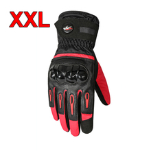 Buy 2pcs Professional Touch Screen Winter Motorcycle Gloves Warm Waterproof Protective Taslan Fabric Gloves Motor Bike Accessories directly from merchant!