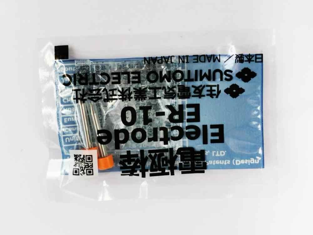 Electrodos de ER-10 para Sumitomo tipo 39 tipo 66 TYPE-81C empalmador de fusión de fibra óptica T-600C