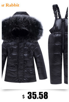 Hc2b15c52314c441c82ce7a0963b52c09d 2019 New Russia Baby costume rompers Clothes cold Winter Boy Girl Garment Thicken Warm Comfortable Pure Cotton coat jacket kids