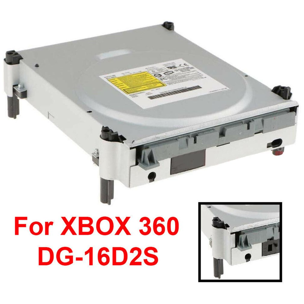 For Xbox 360 Blu-ray Disc Drive Replacement Lite-On DG-16D2S Original Laser Game machine repair replacement parts image