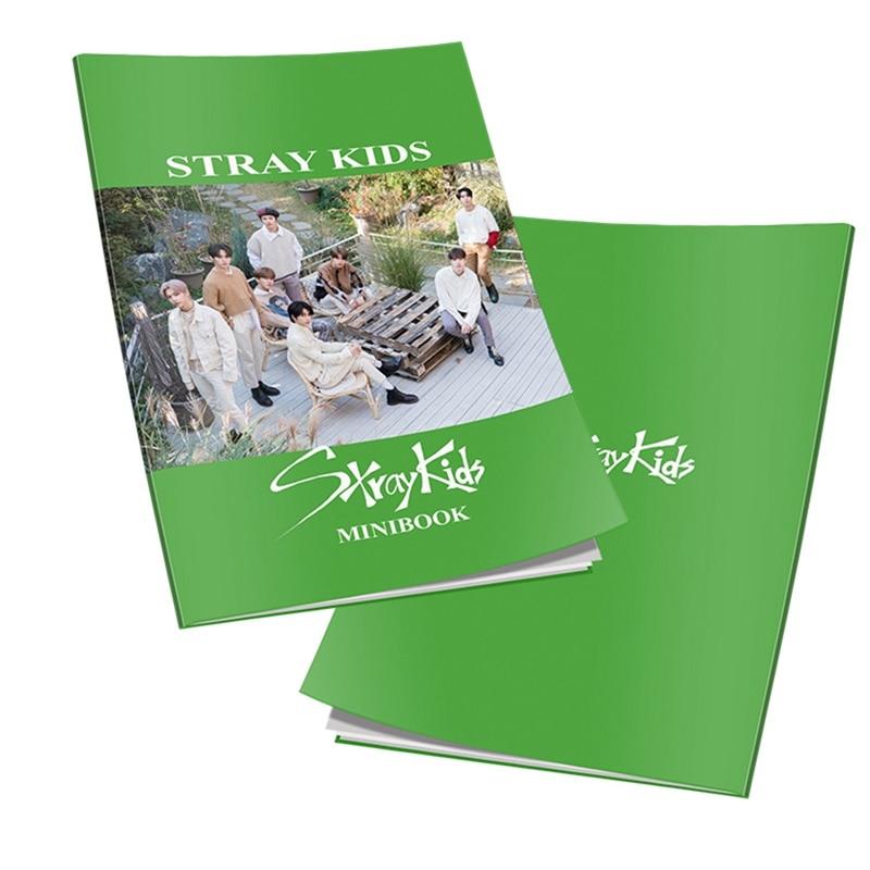 KPOP EXO SEVENTEEN TWICE Stray Kids Mini Photobook Photo Card Fans Collection Upplies Stationery Set