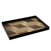 Wood Decoration Tray Nordic Wind Wood Pastry Tray Bread Display Plate Art Dinner Plate