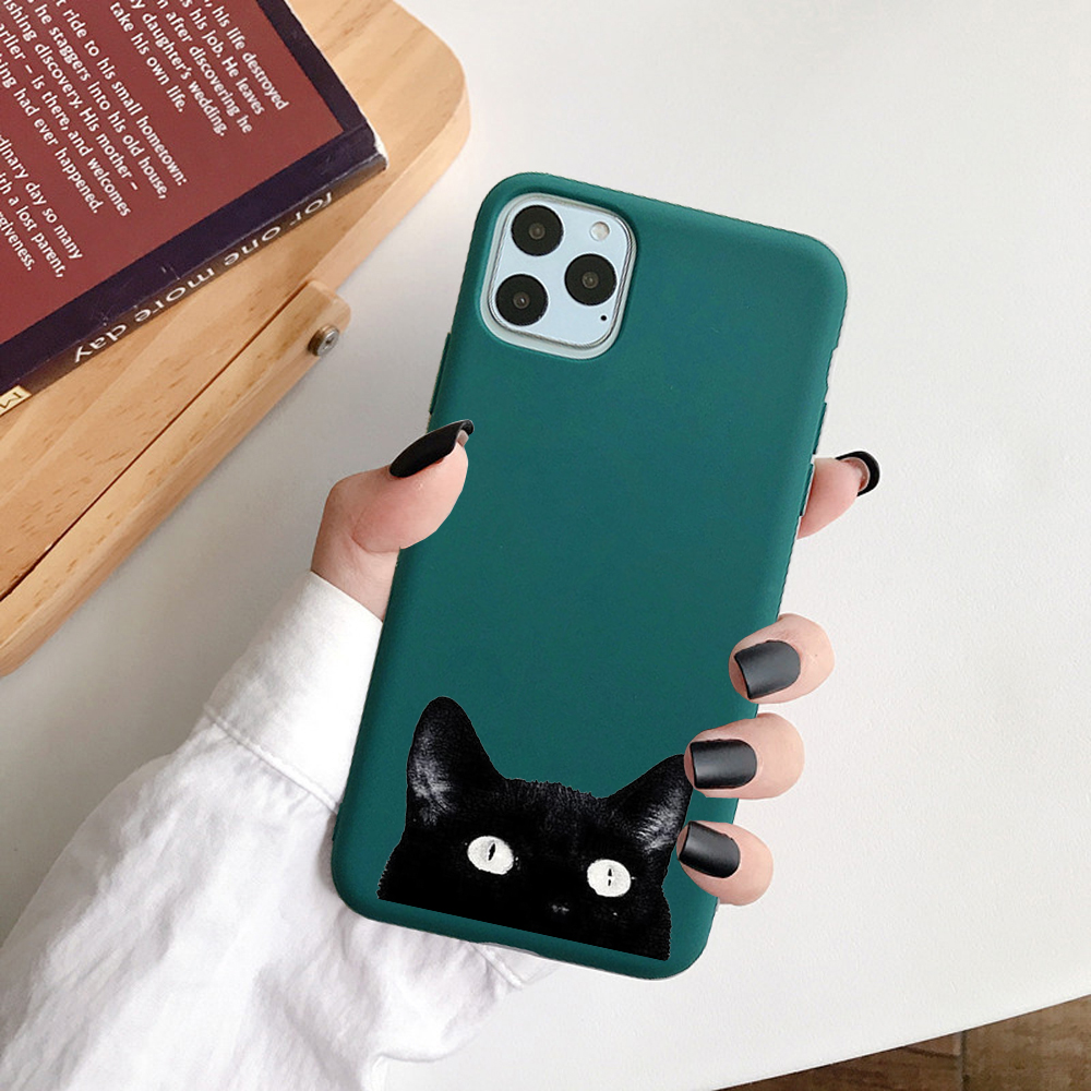 Cute Cartoon Soft TPU Christmas Phone Case For iPhone 12 Pro
