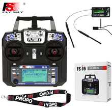 FlySky FS i6 2.4G 6ch RC Radio Transmitter+IA6B Receiver System LCD Screen For FPV Airplane Plane Quadcopter Mini Drone