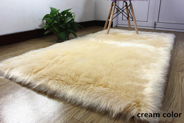 2 artificial wool large size long hair fluffy (1)