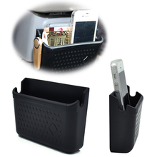 Car Styling Paste formula Car Muti-fuction Storage Pouch Store Phone Box Holder Pocket for car accessories