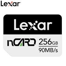 Карта памяти Lexar NM, 90 МБ/с./с, 128 ГБ, Nano, для Huawei Mate20 Pro, Mate20 X, P30, Nova5 Pro, с USB3.1, Type c
