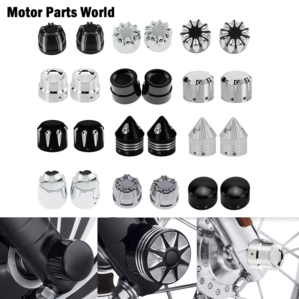 Мотоциклетная 29 мм передняя ось, гайка, крышка, болт, CNC, алюминий для Harley Touring Softail breaker Dyna Street Bob V-Rod VRSC FLTR
