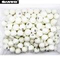 Sanwei 100 peças Novo material ABS seamedwhite 40 + bola de ténis de mesa bola de ténis de mesa ping pong bola traing
