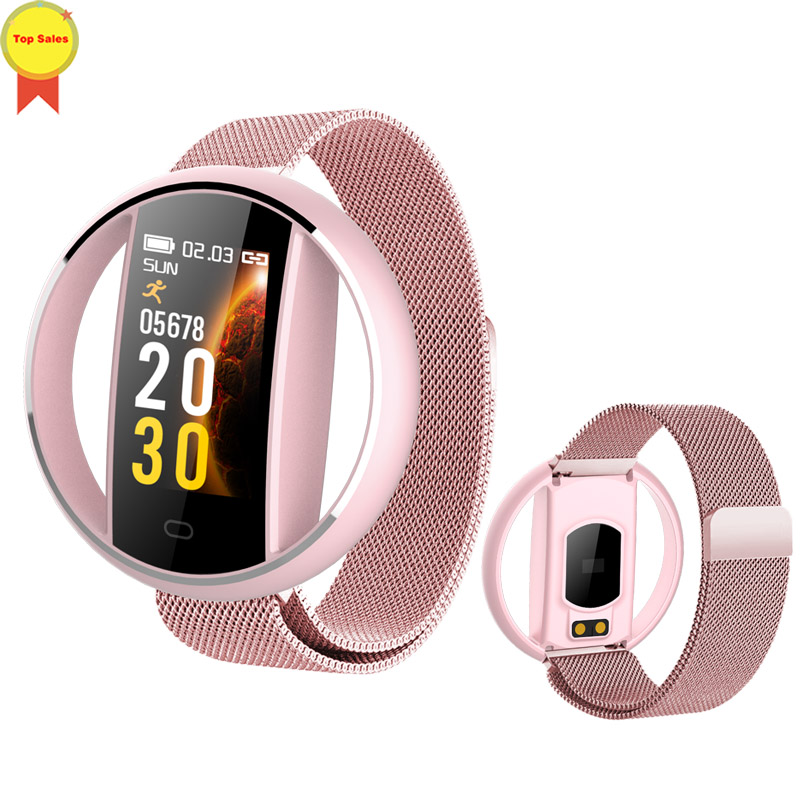 hotsale new Smart Bracelet Heart Rate Sleep pedometer bp bo Monitor Fitness Tracker Wrist Sport men Watch For IOS android xiaomi