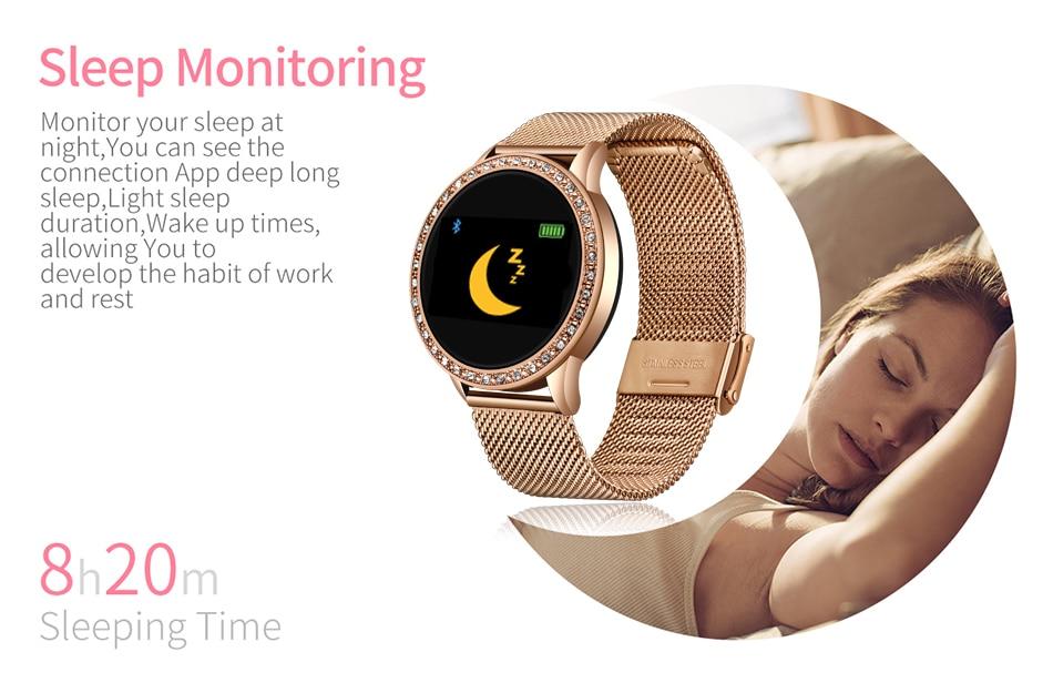 Hc2b352d28dd644f1ab0fa04223513972J LIGE 2020 New Smart Watch Women Men Heart Rate Blood Pressure Sport Multi-function Watch fitness tracker Fashion smartwatch+Box