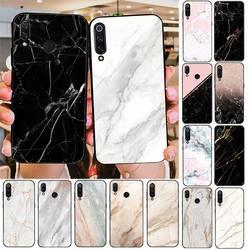 TOPLBPCS-funda de mármol blanco rosa para móvil, carcasa para Redmi note 8Pro, 8T, 9, note Redmi 6pro, 7, 7A, 6, 6A, 8, 5plus