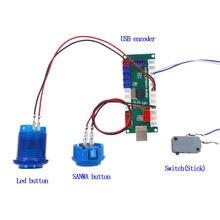 Нулевая задержка usb энкодер для pc игр аркадная палка контроллер