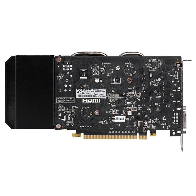 Оригинальные видеокарты XFX RX 560 4 Гб AMD Radeon RX560 4 Гб видеоэкран карты GPU настольная RX 560D игровая карта Видеокарта не Майнинг-5