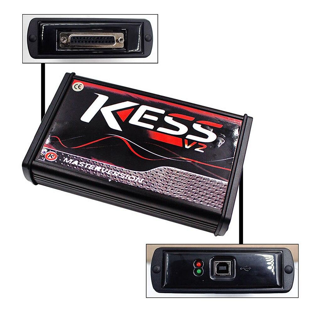 Kess V2 V5.017 Online Version Keine Tokens Begrenzung V2.47 Kess V2 OBD2 Manager Tuning Kit Auto Lkw ECU Programmierer Hohe qualität