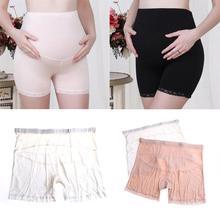 Maternity Leggings Short Length Women Safety Pants Soft Adjustable Waist Pregnancy Clothes Pants Ropa Mujer Embarazada Premama