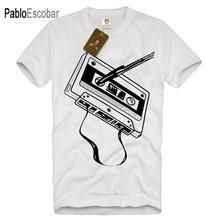 Klassische Old Skool Kassette Band Dj Männer Musik Audio-Mix Retro Sommer Hohe Qualität Tees Nerd T Shirts cheap Kurzschluss O-Ansatz regular Nein JERSEY COTTON HIP HOP Druck