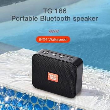 Mini altavoz TG166, reproductor De música portátil con Radio FM, altavoz Subwoofer...