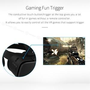 Image 4 - BOBO نظارات الواقع الافتراضي VR Z6 المزودة بتقنية البلوتوث ، وسماعة رأس استريو لاسلكية ثلاثية الأبعاد لهواتف iPhone و Android