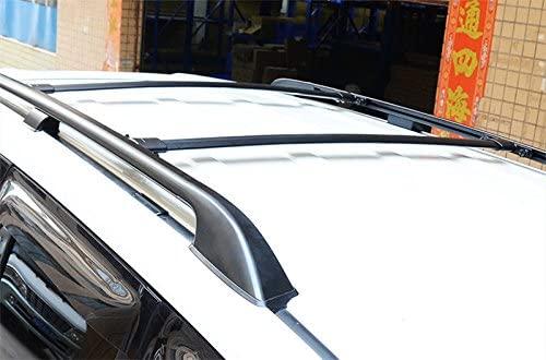 rack do telhado trilho de telhado barras transversais preto 03