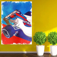 Moderne Lancia Rally Auto F1 LC2 Abstract Poster Canvas Schilderij Print Modulaire Wall Art Foto Voor Woonkamer Slaapkamer Thuis decor