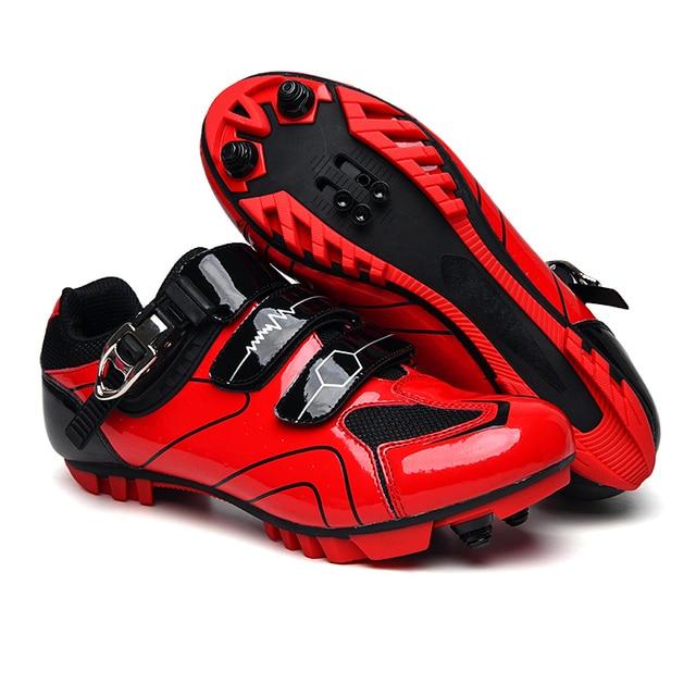 Mtb sapatos de ciclismo homem esporte ao ar livre sapatos de bicicleta auto-bloqueio profissional de corrida de estrada sapatos zapatillas 4