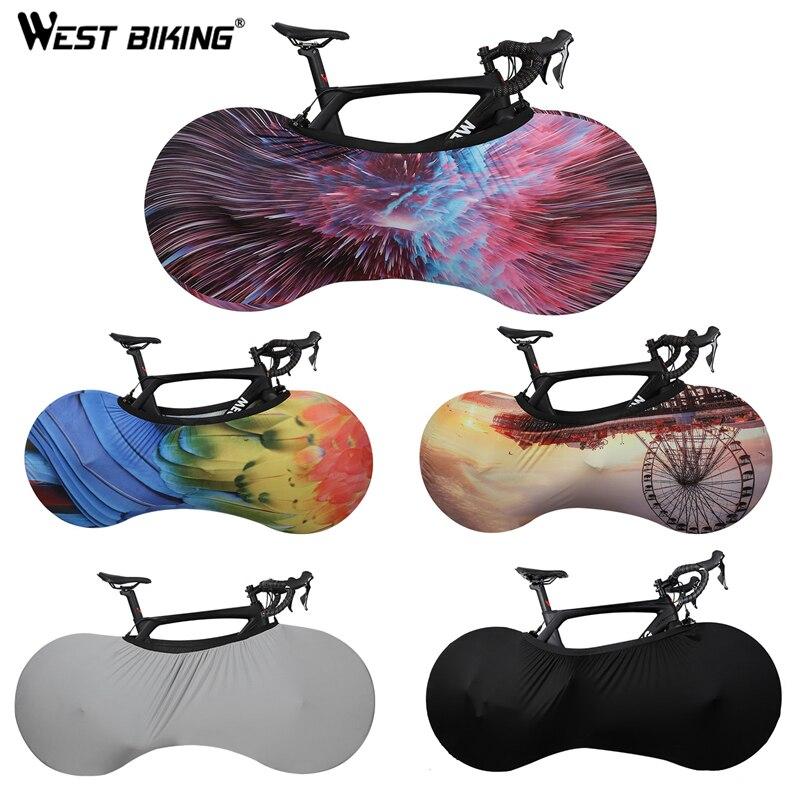 WEST vélo vélo couverture vélo roues anti-poussière anti-rayures couverture intérieure équipement de protection vtt vélo couverture sac de rangement