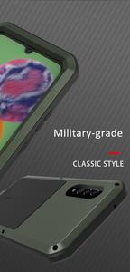 Image 3 - Coque de protection complète antichoc 360 ° pour Samsung Galaxy A51 A71 A50 A70S A90 5G A40S A30S, protection antichoc en aluminium