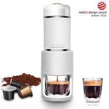 Staresso Portable Espresso Maker SP200 brew coffee capsules machine great for hikers campers travelers and white-collar workers