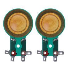 2Pcs 25.5mm 24.5mm Horn Treble Film Resin Membrane Drive Head Tweeter Voice Coil M5TB