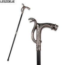 Cobra-Head Luxury Walking Stick Cane For Men Fashion Decorative Walking Canes Party Vintage Stick Elegant Hand Walking Canes