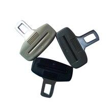 2 Piece Universal Car Seat Belt Insert Bend Lock Buckle Opener Auto Parts