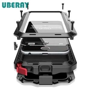 Image 1 - UBERAY Heavy Duty ป้องกัน Doom ARMOR โลหะอลูมิเนียมสำหรับ Huawei P30Pro P30 Mate20pro Mate20 กันกระแทก Capa