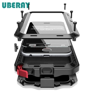 Image 1 - Усиленная защита UBERAY, металлический алюминиевый чехол для Huawei P30Pro P30 Mate20pro Mate20, противоударный чехол, чехол, чехол